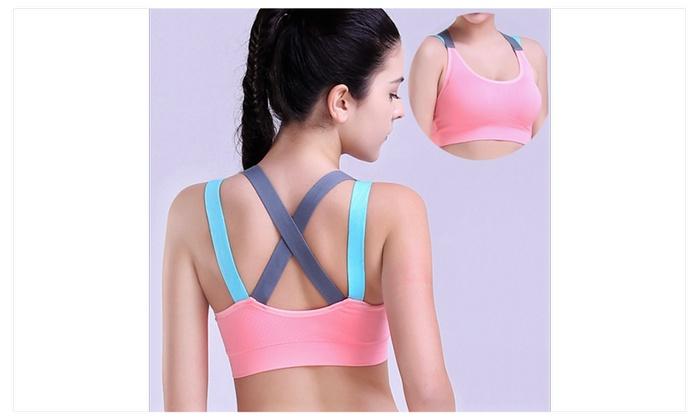 Women Sports Bra Yoga Bra Running, Gym Sportswear For Jogging Seamless