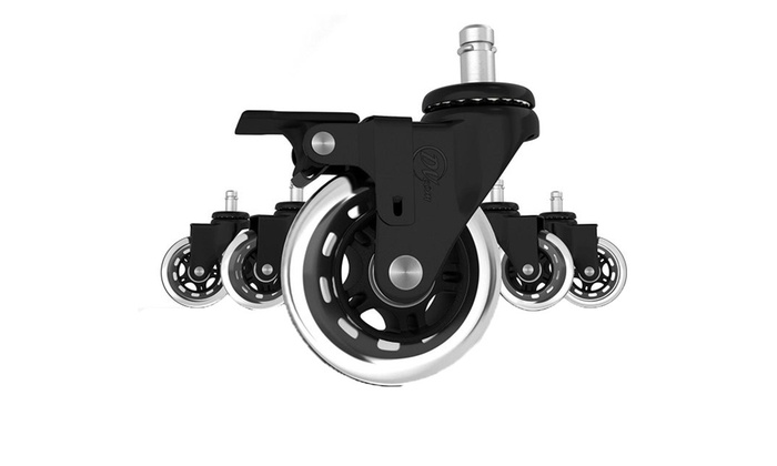 Office Chair Caster Wheels Replacement Set Of 5 Heavy Duty ...