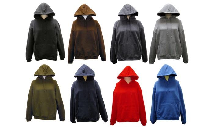 SPECIEN Adult CVC 330 GSM Hooded Pullover Sweatshirt