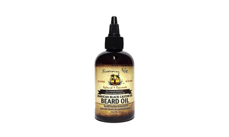 Jamaican Black Castor Oil Beard Oil for Men Fast Natural Hair Growth - 4 oz