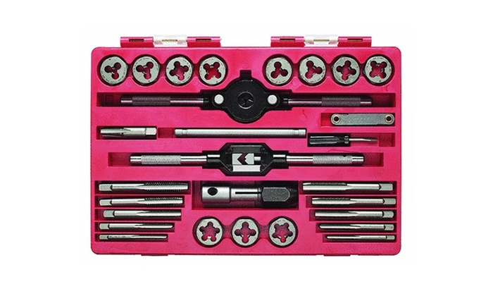 Hanson 24614 Tap & Die Set, 24 Piece