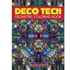 Dover Publications DOV-75468 Deco Tech Geometric Coloring Book