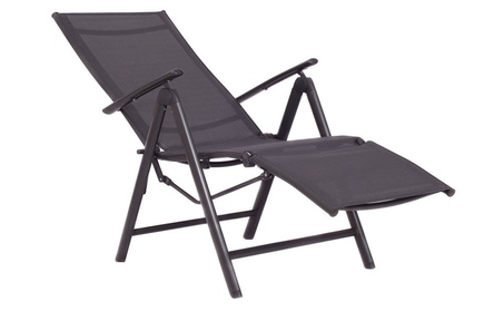 Adjustable Folding Lounge Chaise Chair Recliner OutdoorPatio Furniture 98961010-48b2-4d35-98e8-033d285a5970