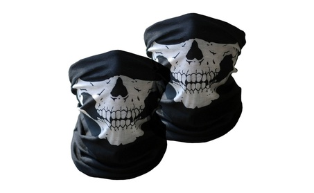 2 Pack Soft Safe Outdoor Sports Hiking Motorbike Full Face Mask 8ab7100c-df5f-4411-afc4-ebf89f036550