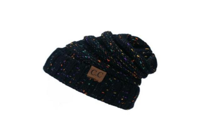14d403500 Women's Warm Winter Beret Braided Baggy Knit CC Beanie Hat Ski Cap ...