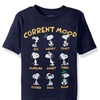 Peanuts Toddler Mens Snoopy Short Sleeve T-Shirt