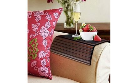 Marvelous Kleeger Flexible And Portable Sofa Arm Wood Tray Table Spiritservingveterans Wood Chair Design Ideas Spiritservingveteransorg