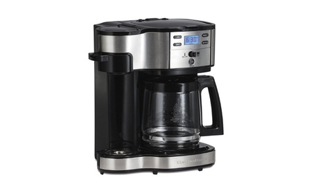 Single Serve Coffee Brewer and Full Pot Coffee Maker, 2-Way bd27a73d-4bde-4df7-896e-9cef8d6bece2