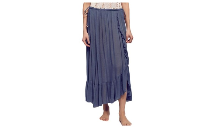 Women's Pullover Loose Fit Casual Casual Pleated Skirts