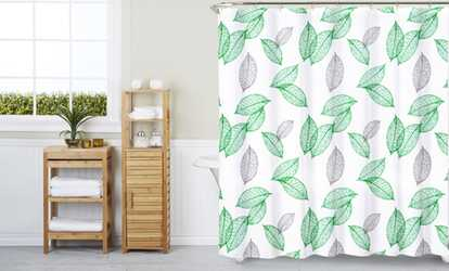 image placeholder image for peva shower curtain with 12 shower hooks