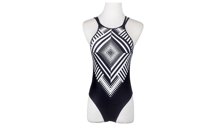 One Piece Swimsuit Swimwear Bathing Monokini Push Up Padded Bikini