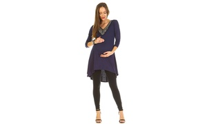 Maternity 'Sofia' Embellished Tunic