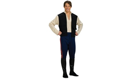 Star Wars Deluxe Han Solo Adult Costume 8c4b9b1a-962b-4178-aad9-e566a4fe7a37