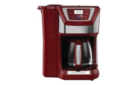 Applica CM5000RD 12 Cup Mill and Brew Coffeemaker - Red f9ec6f11-7b36-4c29-be87-a297bfaa190d