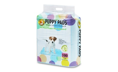 Best Pet Supplies VLP-1001 Blue Value Pack Puppy Pads - 100 Pieces 650ae79b-7064-4645-9971-881f1d8b944c