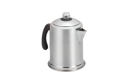 Farberware Classic Stainless Steel Yosemite 8-Cup Coffee Percolator ab579936-73ff-441a-a7b4-488cf00ea7e5