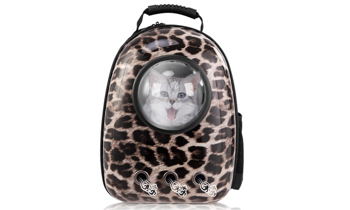 d112f1cf113 Astronaut Pet Cat Dog Puppy Carrier Travel Bag Space Capsule Backpack