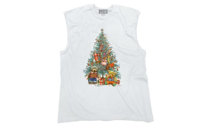 Christmas Tree Full of Toys Sleeveless T-Shirt