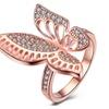 Fashion Women Charms 18K gold Wedding Engagement Anniversary Rings