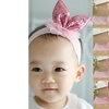 Cute Toddler Little Princess Girl Rabbit Ear Shiny Sequins Lace Elastic Headband