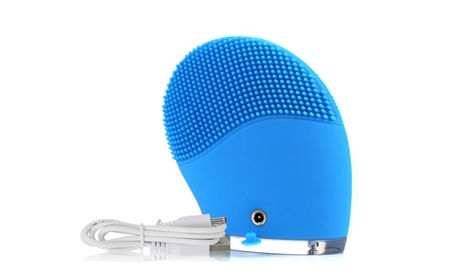 Silicone Electric Facial Cleansing Brush Face Skin Cleanser Massage 05fb2980-169e-43e2-86a1-34bcf0ba5735