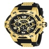 Invicta 24233 Speedway Mens Quartz 51MM Gold Case Black dial