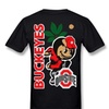 Huba Men's Tshirts Ohio State Buckeyes Black