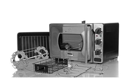 Wolfgang Puck Pressure Oven Countertop Rotisserie Bundle - Refurbished 7d748196-5984-4114-9fba-f228d345358d