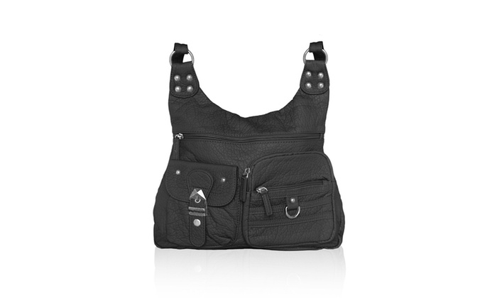 AFONiE Washable Vegan Leather Series – Casual Messenger Bags