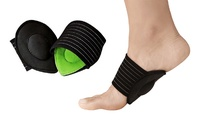 XTF Cushioned Plantar Fasciitis Foot Arch Supports (1- or 2-Pairs)