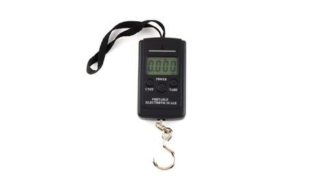 New 40 kg 20 g Electronic Portable Digital Weight Scale Black 19b692bd-b167-4406-8502-0e83f38647a0