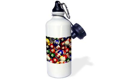 Water Bottle - Billiard Balls Pool - 21oz