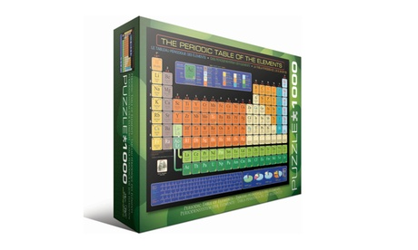 The Periodic Table of the Elements: 1000 Pcs a499281e-439d-4b55-9b10-9726f7741894