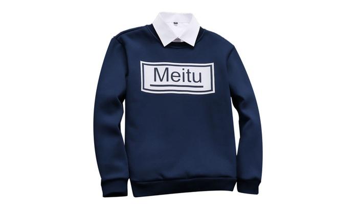 Shefetch Men's Autumn Casual Fashion Sweatshirts