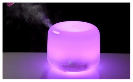 300ml Aromatherapy Essential Oil Diffuser Humidifier 5908465a-6bed-408f-bf0c-aeac7a05c431