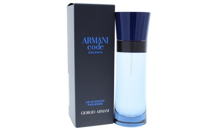 51739039a Giorgio Armani Code Colonia Men EDT Spray