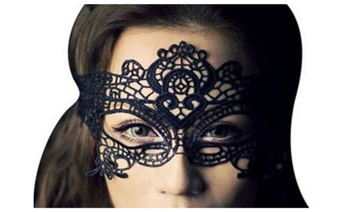Party Lace Venetian Masquerade...