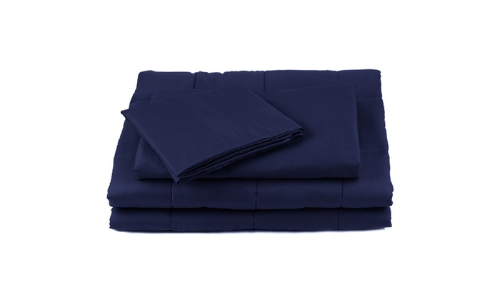 Duvet Cover For Weighted Blanket 48 X 72 100 Cotton Groupon