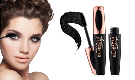 4D Voluminous Smudgeproof Silk Fiber Mascara