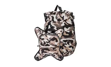 Obersee Innsbruck Diaper Bag Backpack With Cooler - Camo 77c7ee84-6a4d-4334-8a8e-79a099abe2e5