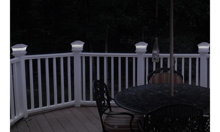 Imountek Solar Ed Post Cap Lights 1 Or 6 Pack