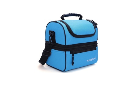 Adult Lunch Box Blue Insulated Lunch Bag Large Cooler Tote Bag 4eea30ac-967b-44d0-88f1-bc19dbe55aff