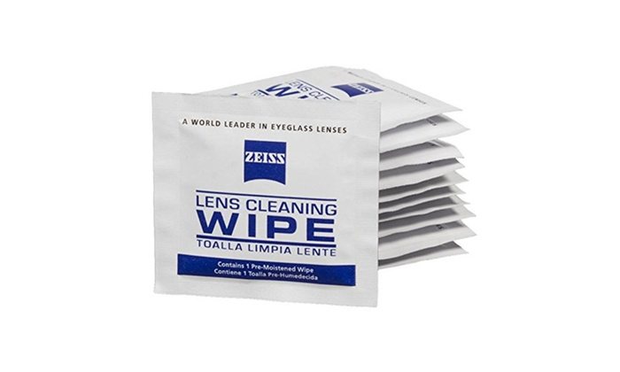 Zeiss Pre-Moistened Lens Cleaning Wipes 200 Count