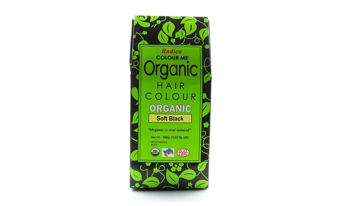 Radico Colour Me Organic Hair Color - Soft Black | Groupon
