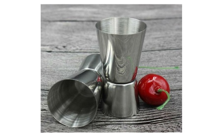 Stainless Steel Cocktail Shaker Measure Cup 38fbeca8-cf64-470f-8a69-c8afea314b52