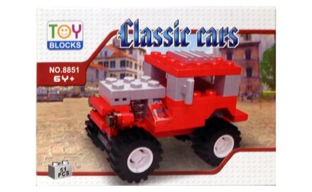 Toy Blocks Classic Cars Building Set 51 Pcs 100% Lego Compatible e04d280d-a7da-4ef9-9a67-b0be282c0242