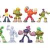 12Pcs Anime Ninja Turtles Action Figure Toys Model Doll For Kid Gift