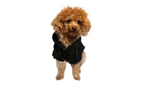 Black Dog Apparel Cold Weather Coat Pullover Sweatshirt For Dog Puppy 39e31c39-7e64-494f-aaea-3f97f1d3e2ce