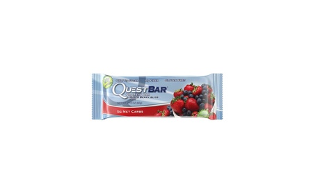 Quest Nutrition Protein Bar, Mixed Berry Bliss