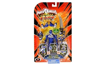 Power Rangers Jungle Fury Animalized Jaguar Ranger 25b0f1b1-1701-4eef-b977-836dfc9d862f